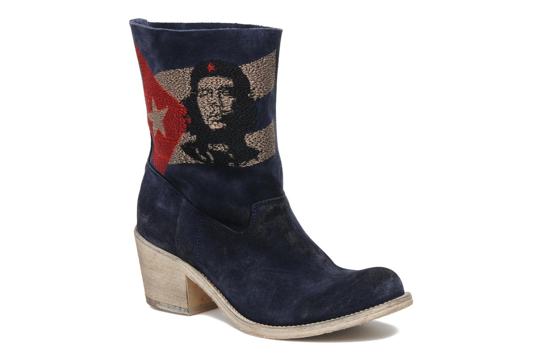 Bottines et boots Coco et abricot Ché Bleu vue détail/paire