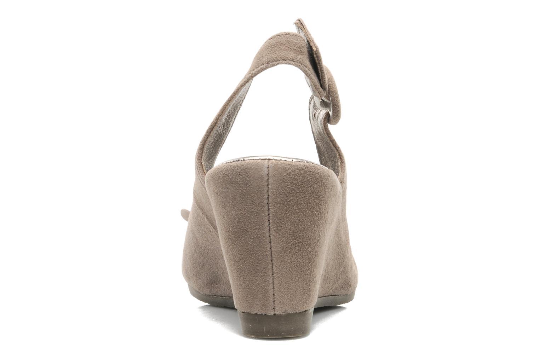 Sandales et nu-pieds Rosemetal Rony Marron vue droite