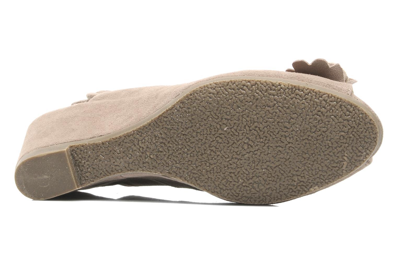 Sandales et nu-pieds Rosemetal Rony Marron vue haut