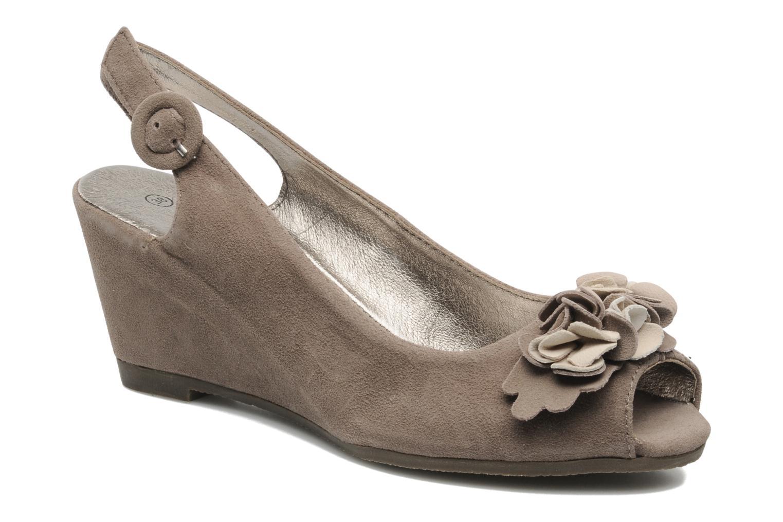 Sandales et nu-pieds Rosemetal Rony Marron vue détail/paire