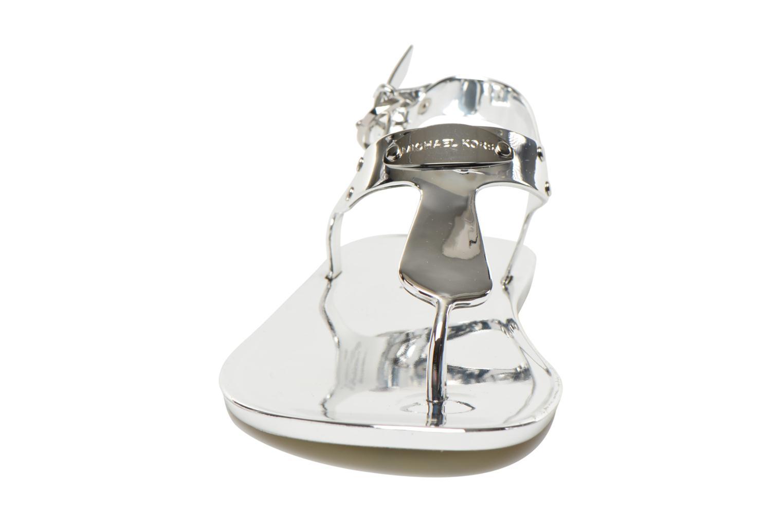 Sandaler Michael Michael Kors MK Plate Jelly Sølv se skoene på