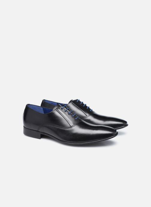 Zapatos con cordones Azzaro Mars Negro vista 3/4