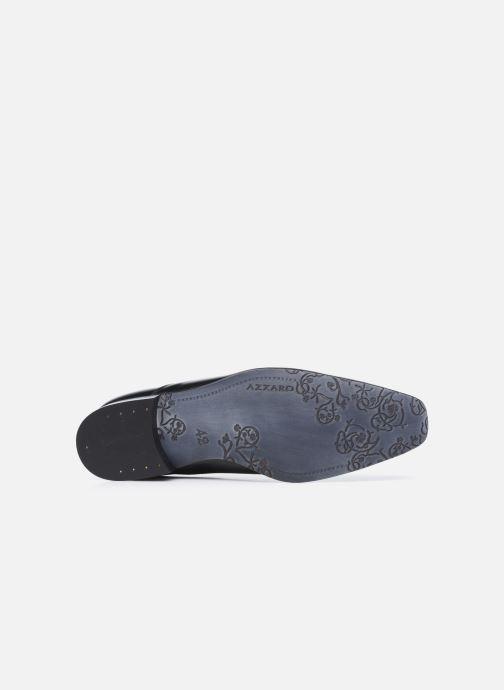 Zapatos con cordones Azzaro Mars Negro vista de arriba