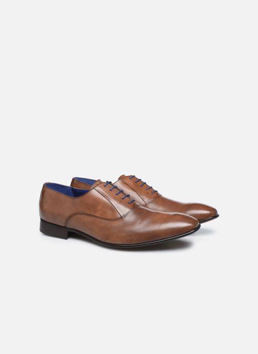 Zapatos con cordones Azzaro Mars Marrón vista 3/4