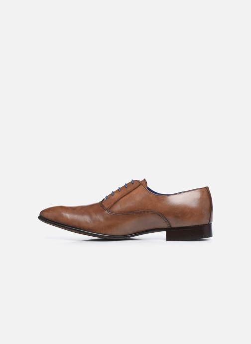 Zapatos con cordones Azzaro Mars Marrón vista de frente