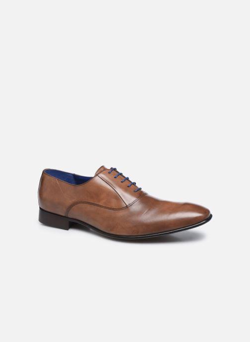 Zapatos con cordones Azzaro Mars Marrón vista de detalle / par