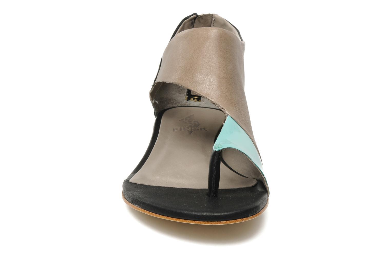 Sandales et nu-pieds Skin by Finsk NEROVE Multicolore vue portées chaussures