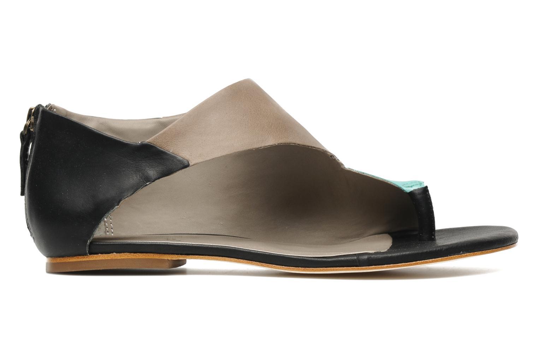 Sandales et nu-pieds Skin by Finsk NEROVE Multicolore vue derrière