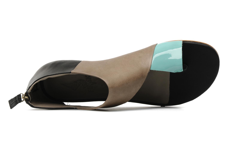 Sandales et nu-pieds Skin by Finsk NEROVE Multicolore vue gauche