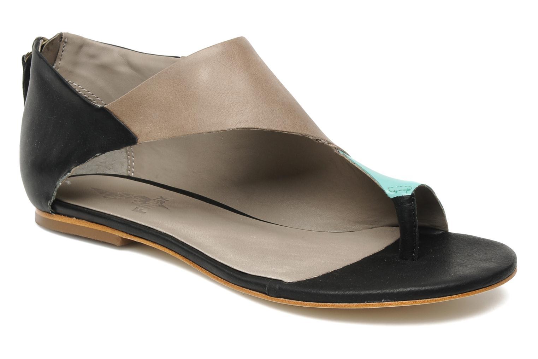 Sandales et nu-pieds Skin by Finsk NEROVE Multicolore vue détail/paire