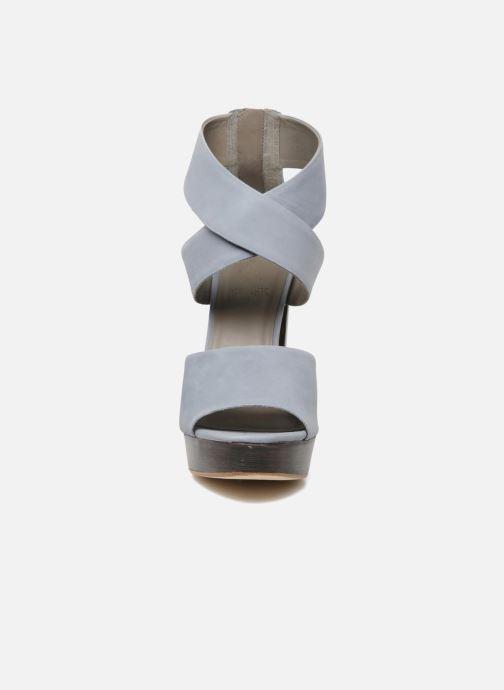 Sandales et nu-pieds Skin by Finsk LERMAPE Bleu vue portées chaussures