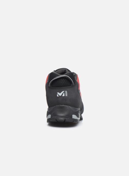 Zapatillas de deporte Millet Trident Guide Rojo vista lateral derecha