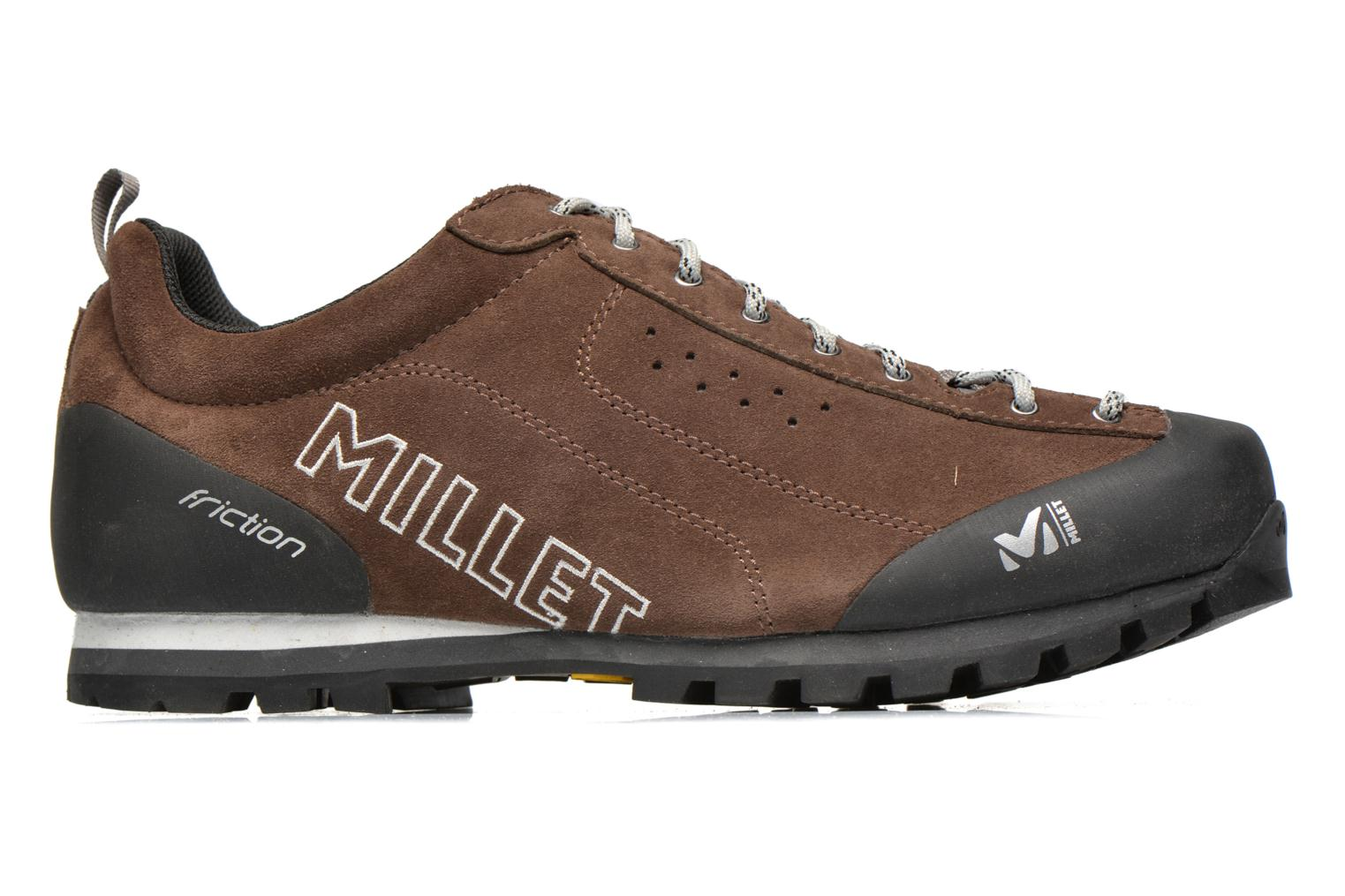 Sport shoes Millet Friction Brown back view