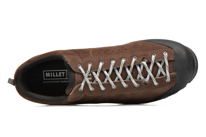Zapatillas de deporte Millet Friction Marrón vista lateral izquierda