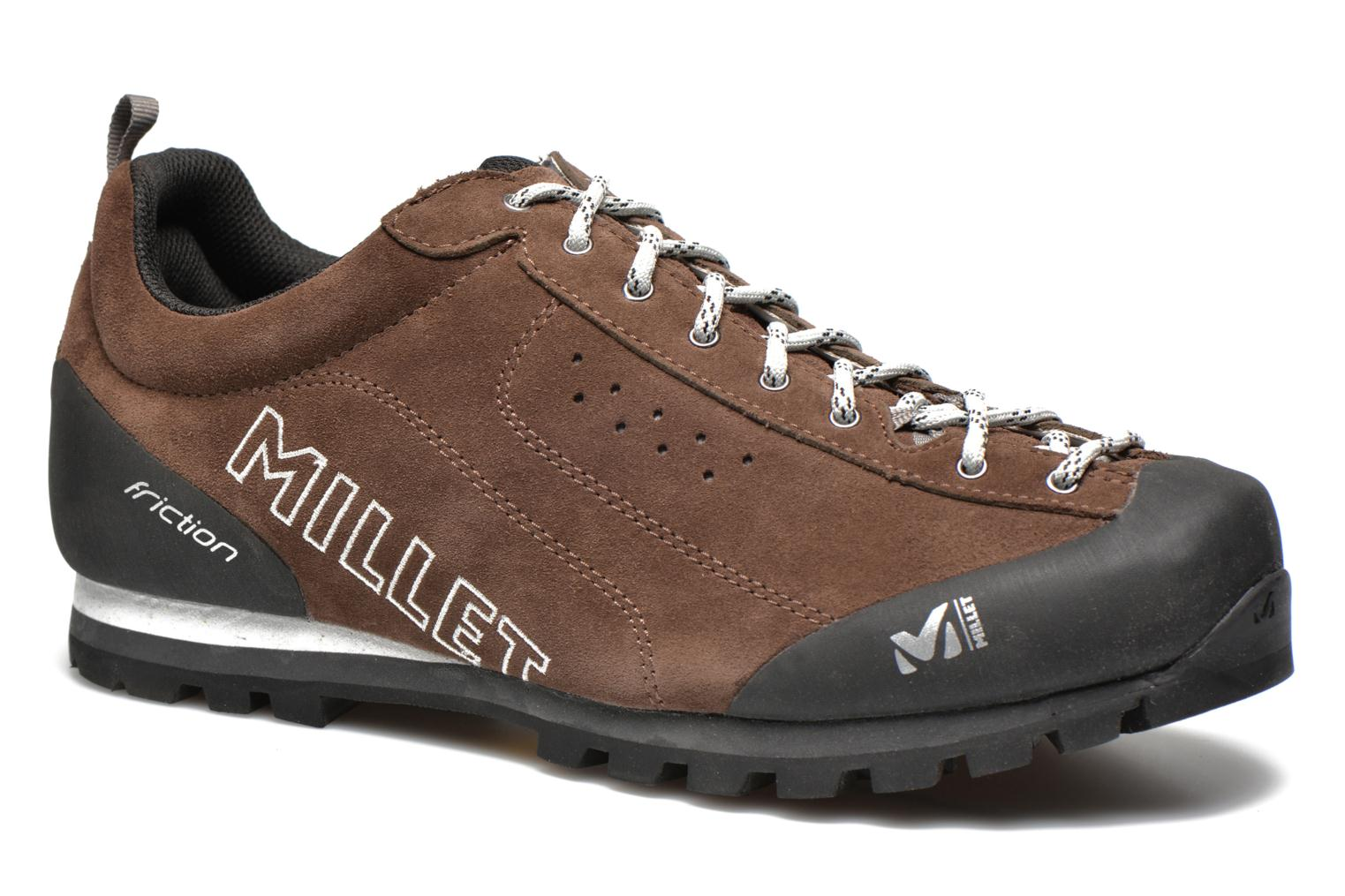 Sport shoes Millet Friction Brown detailed view/ Pair view