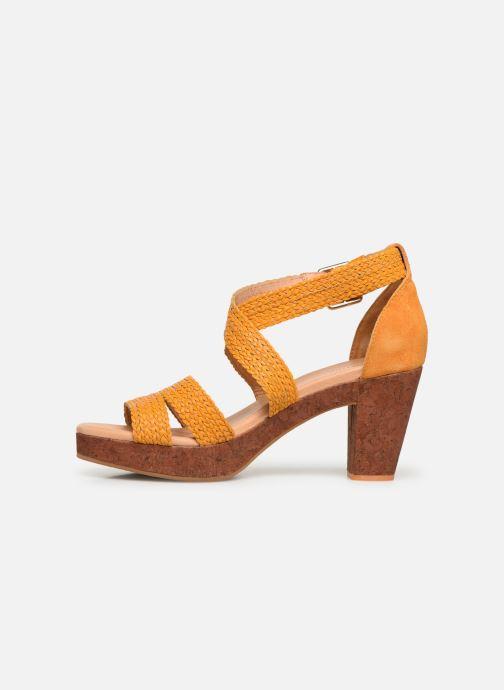 Sandales et nu-pieds Flipflop Tahiti Jaune vue face