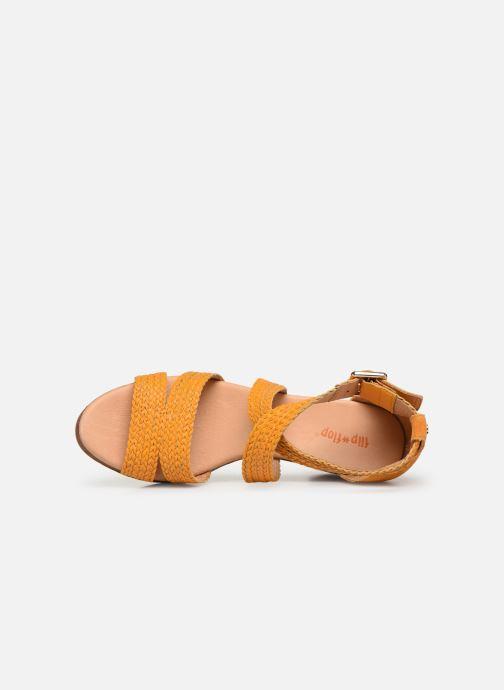 Sandales et nu-pieds Flipflop Tahiti Jaune vue gauche