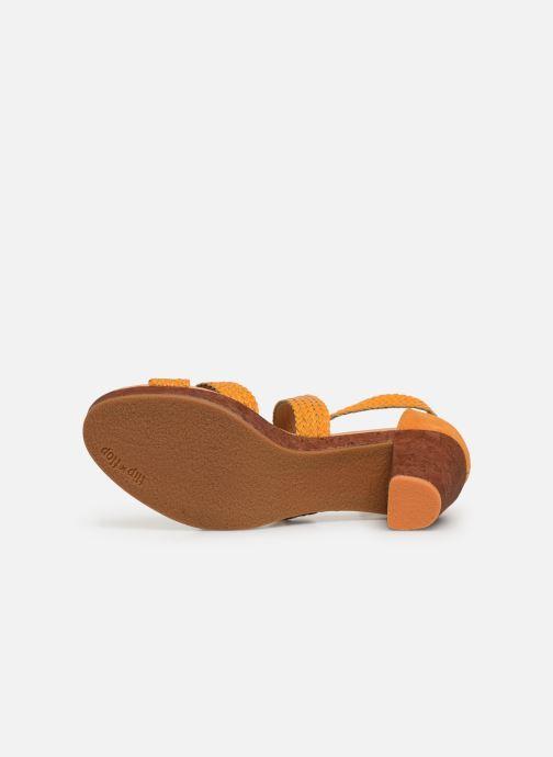 Sandales et nu-pieds Flipflop Tahiti Jaune vue haut