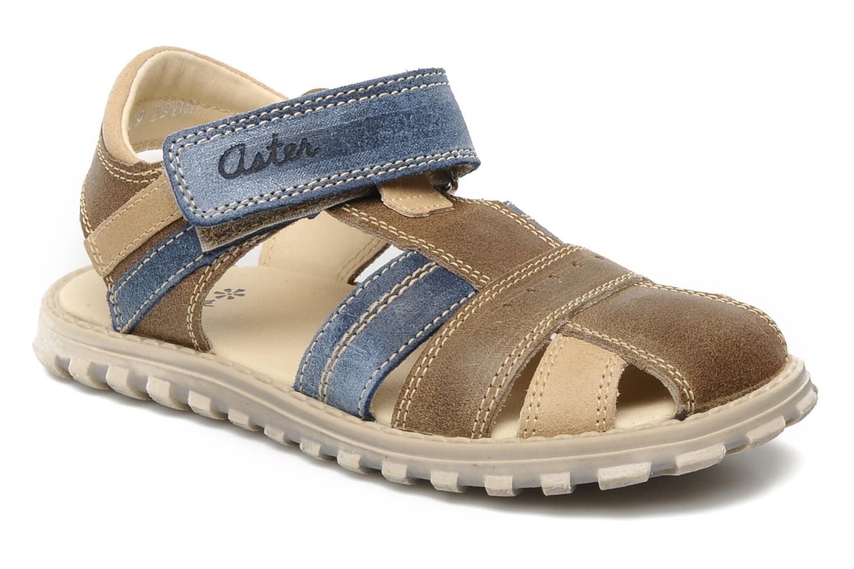 Sandales et nu-pieds Aster AVIATOR Marron vue détail/paire