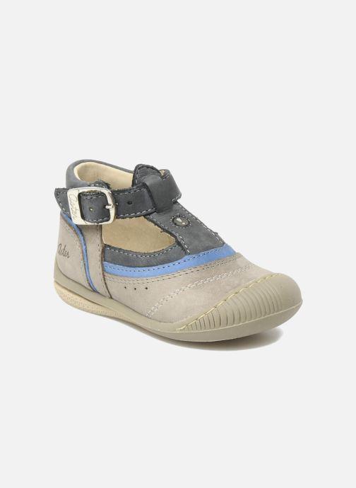 Bottines et boots Aster BOREAL Gris vue détail/paire