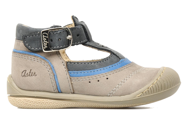 Boots en enkellaarsjes Aster BOREAL Grijs achterkant