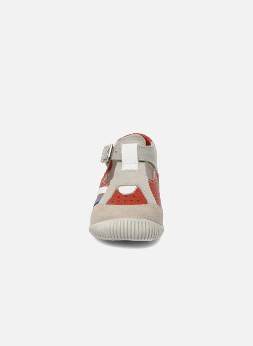 Bottines d'été Babybotte Pilou Rouge vue portées chaussures