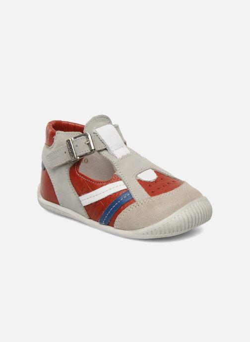 Sommersko Babybotte Pilou Rød detaljeret billede af skoene