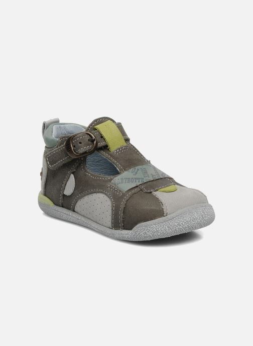 Sommersko Babybotte Pitt Grå detaljeret billede af skoene