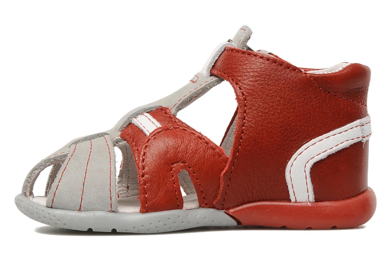 Sandales et nu-pieds Babybotte Gilou Rouge vue face