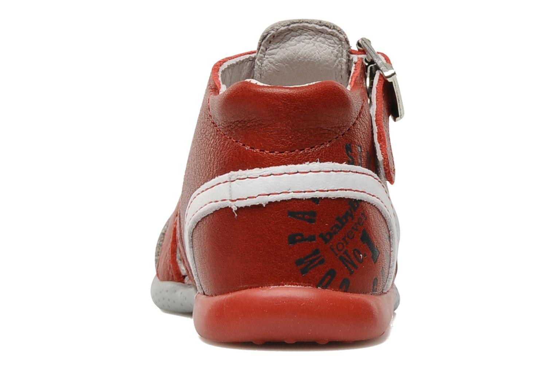 Sandales et nu-pieds Babybotte Gilou Rouge vue droite