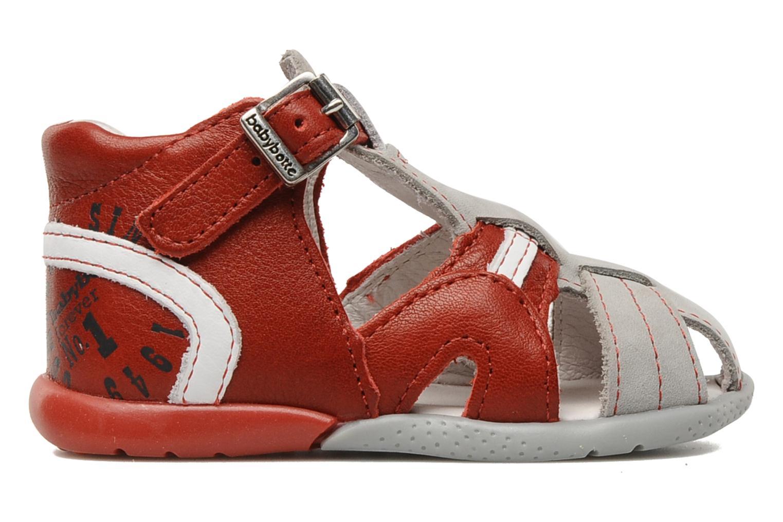 Sandales et nu-pieds Babybotte Gilou Rouge vue derrière