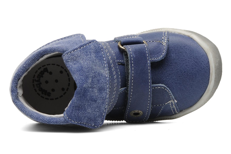 Scarpe con gli strappi Babybotte Actor Azzurro immagine sinistra