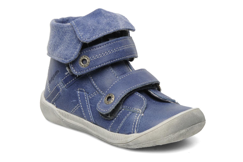 Zapatos con velcro Babybotte Actor Azul vista de detalle / par