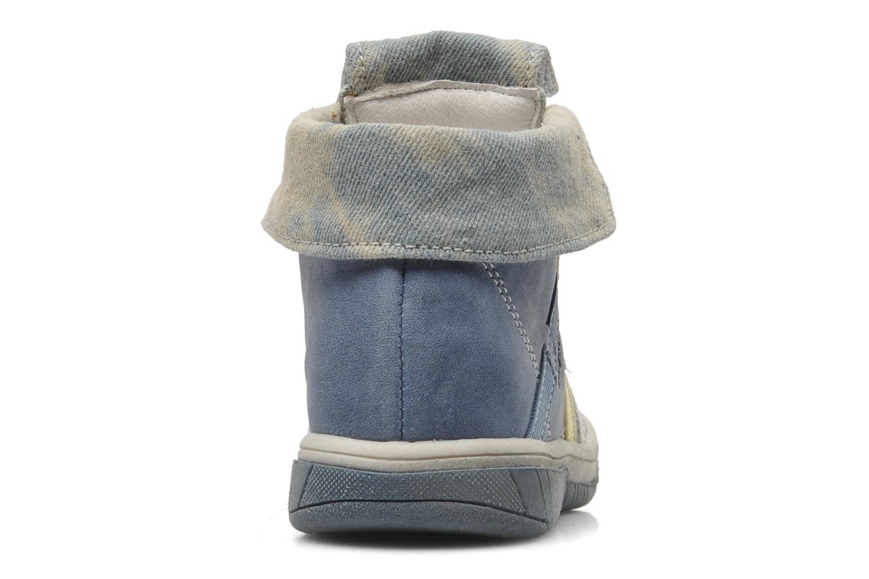 Bottines et boots Babybotte Artiste Bleu vue droite