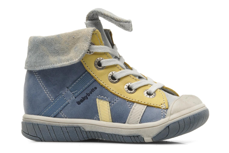 Bottines et boots Babybotte Artiste Bleu vue derrière