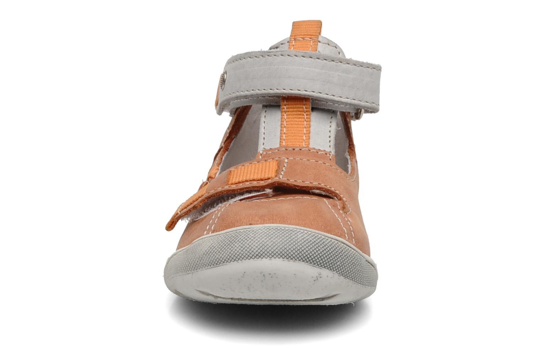 Sommerschuhe Babybotte Stylist orange schuhe getragen