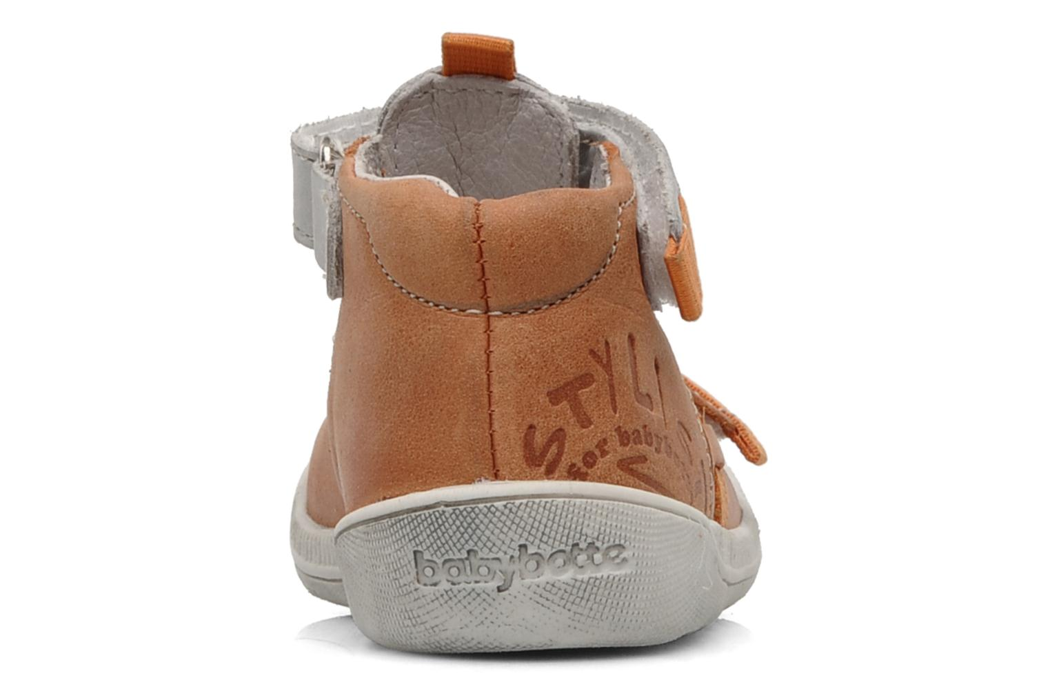 Summer boots Babybotte Stylist Orange view from the right