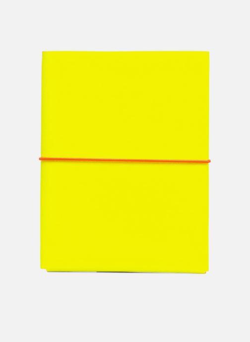 Kleine lederwaren Coverlab I-pad case Geel voorkant