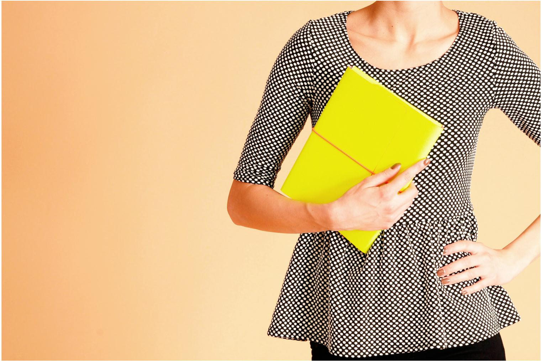 Portemonnaies & Clutches Coverlab I-pad case gelb ansicht von oben