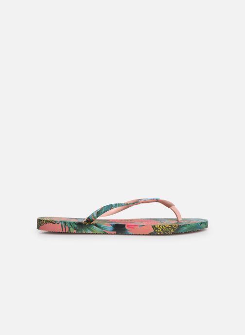 Tongs Havaianas Slim Paradiso Multicolore vue derrière