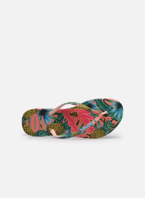 Tongs Havaianas Slim Paradiso Multicolore vue gauche