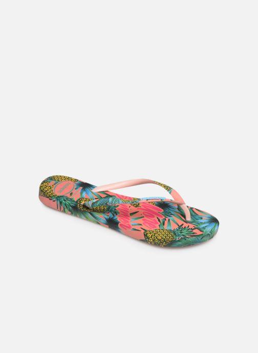 Tongs Havaianas Slim Paradiso Multicolore vue détail/paire