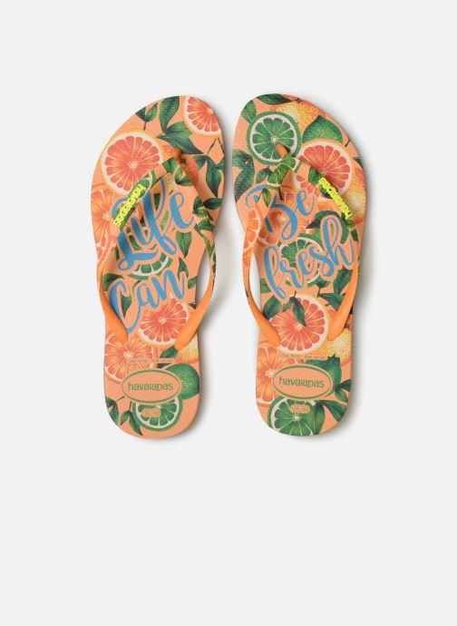 Flip flops Havaianas Slim Paradiso Multicolor model view