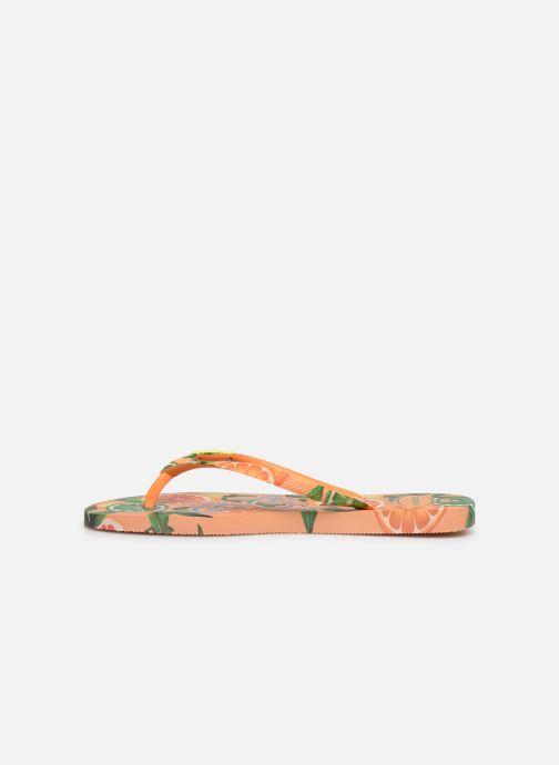Flip flops Havaianas Slim Paradiso Multicolor front view