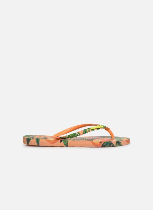 Flip flops Havaianas Slim Paradiso Multicolor back view