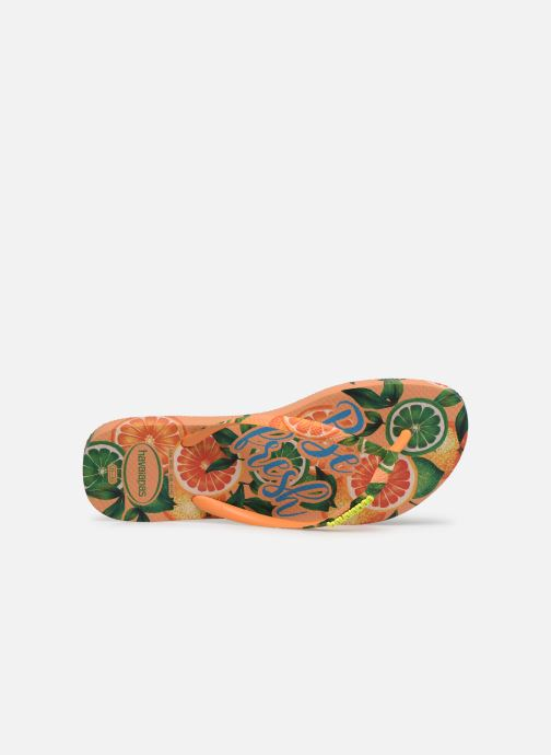 Flip flops Havaianas Slim Paradiso Multicolor view from the left