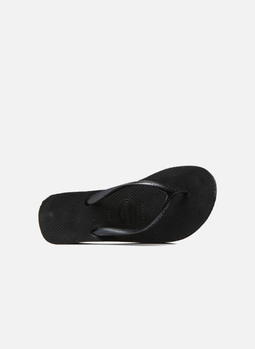Flip flops Havaianas High Fashion Black view from the left