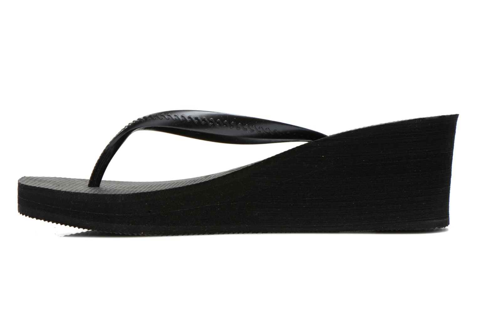 Tongs Havaianas High Fashion Noir vue face