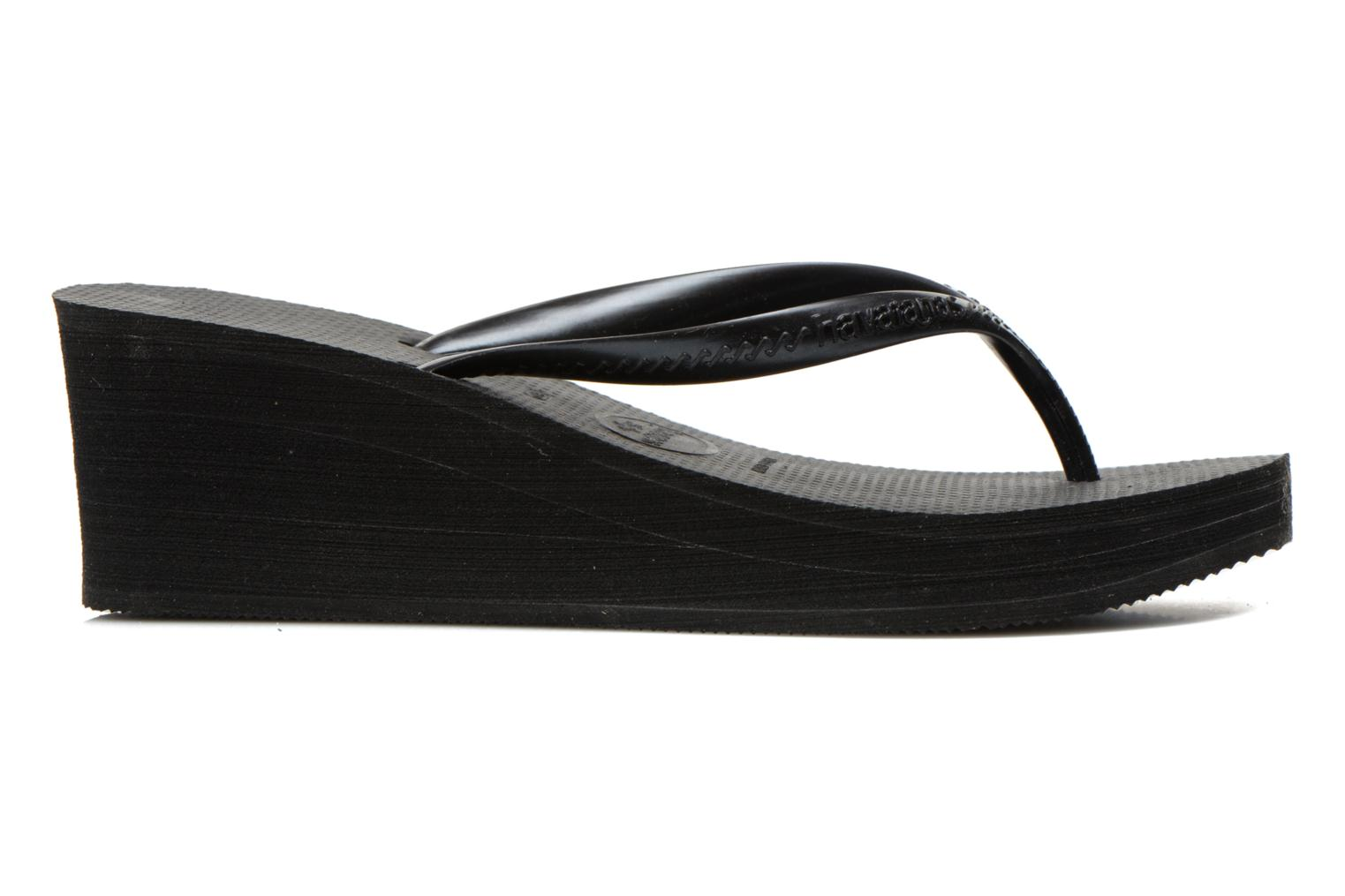 Tongs Havaianas High Fashion Noir vue derrière