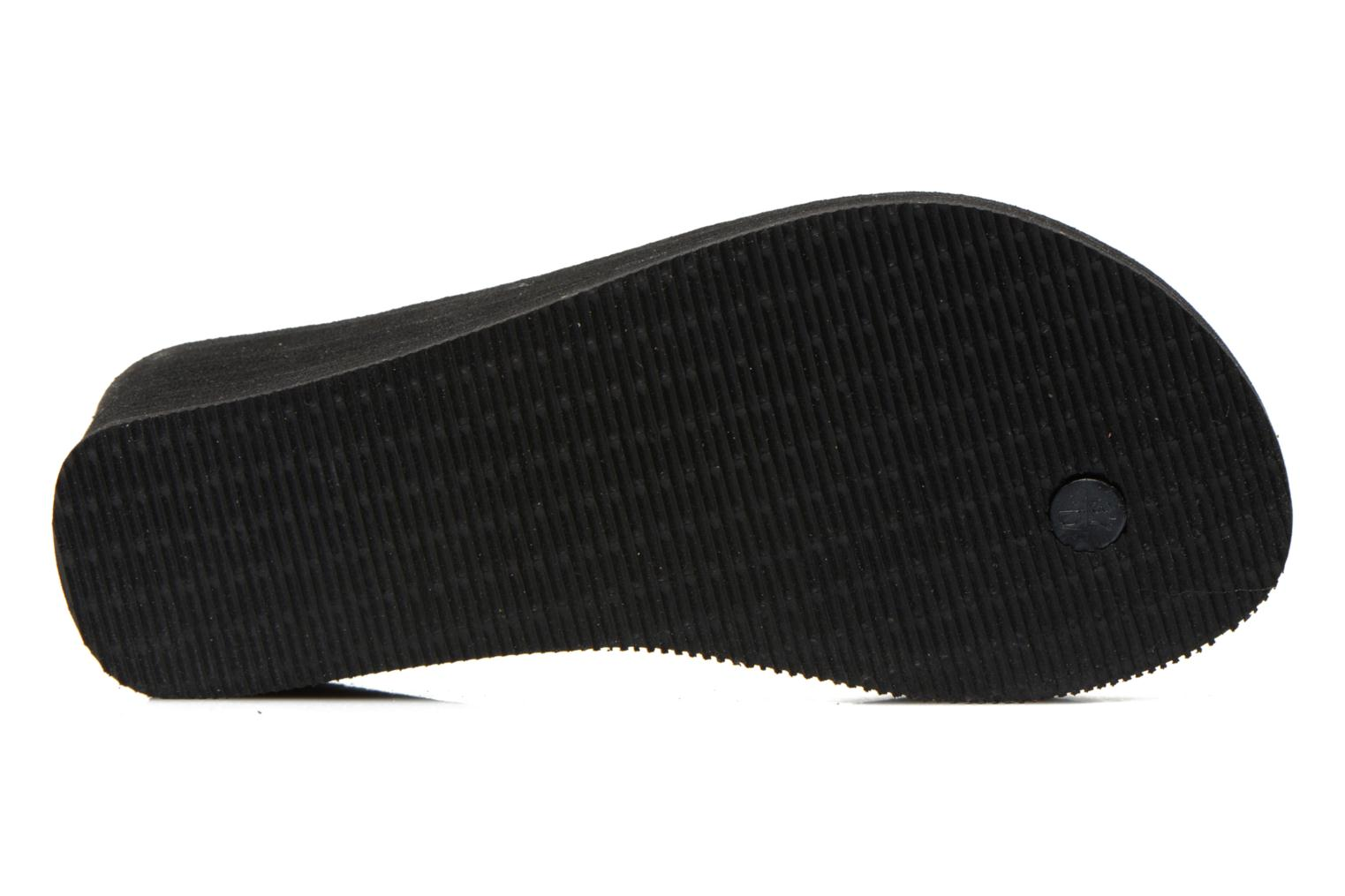 Tongs Havaianas High Fashion Noir vue haut
